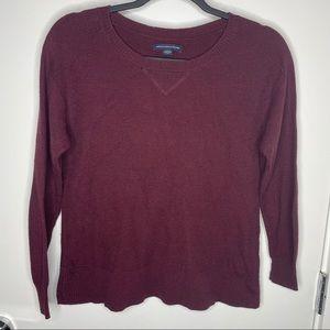 🎁4/20$🎁 American E. burgundy sweater